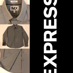 Express dress shirt in grey